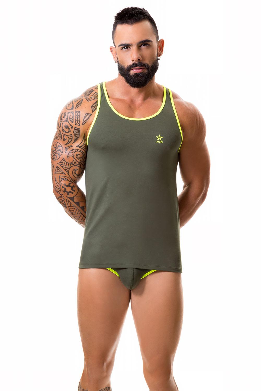 Jor Centauro Tank Top Green Menshopxxx